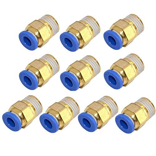 Pneumatische Steckverbinder, 8 mm Gewinde, 1/4 Zoll, Druckluft-gerade, PC8-02