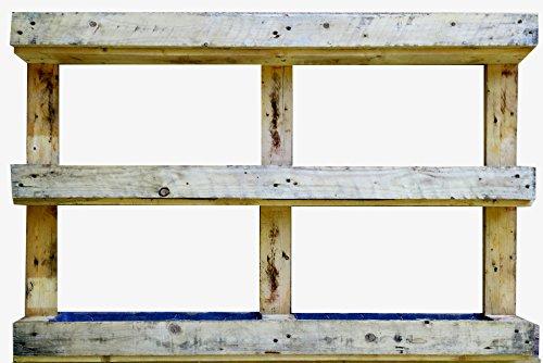 AD servicios Jardinera Vertical Palet Reciclado 120x81x13