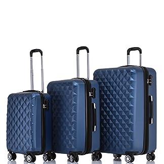 BEIBYE-Trolley-Koffer-Reisekoffer-Reisekofferset-Gepckset-Kofferset-4-Zwillingsrollen-Hartschale