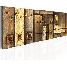 murando - Cuadro pintado a mano 150x50 cm -100% pintados a mano - cuadro en lienzo - tríptico - abstracción - 93182