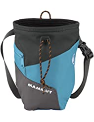 Mammut Magnesiumbeutel Rider - Bolsa de magnesio para escalada, color azul, talla Talla única