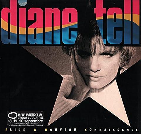 Diane Tell – Faire à Nouveau Connaissance ( Vinyle, album 33 tours 12