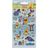 Winnie The Pooh - Fun Foiled Stickers (Reusable) by Sticker Style