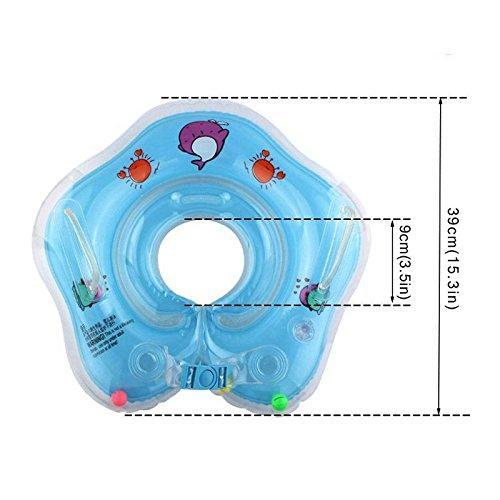 Lodestone's Swimming Neck Float Ring for Baby/Infants (Orange)