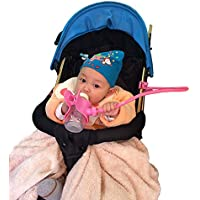 domybest Multifunktions-Baby Kinderwagen Buggy Flaschenhalter Kinderwagen Cup Clip (blau)