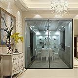 Ablea Magnetischer Türvorhang mit Glasfaser Meterial Insektenschutz für Balkontür, Klebemontage Ohne Bohren, Fliegengitter Magnetvorhang für Türen,Gray,180x200cm