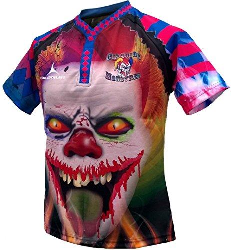 Olorun Cirque de Monstres 2015/16Home S/S Rugby-Shirt 7X L XXXXXL
