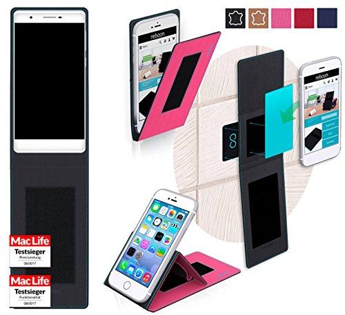 reboon Hülle für Phicomm Passion 2S Tasche Cover Case Bumper | Pink | Testsieger