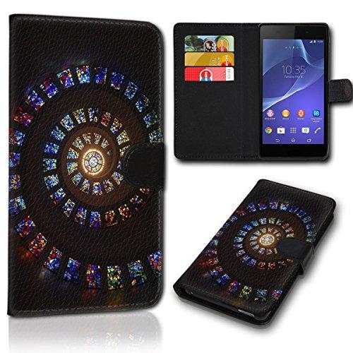 Book Style Alcatel One Touch Go Play 7048X Tasche Flip Brieftasche Handy Hülle Kartenfächer für Alcatel One Touch Go Play 7048X - Design Flip SVH120