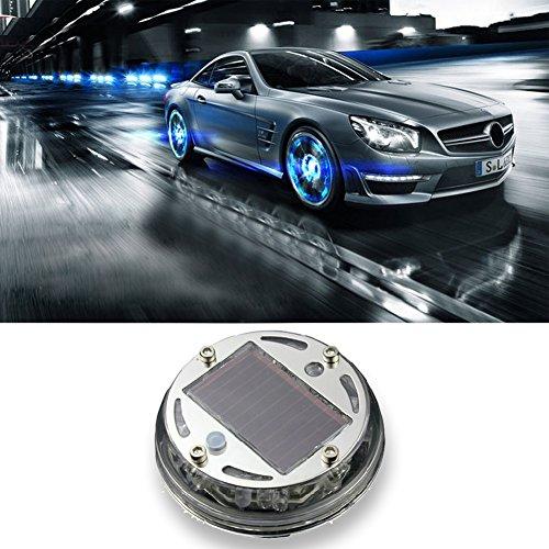 Preisvergleich Produktbild starnearby Fashion Solar Power 12LED Auto Rad Reifen Lampe Auto Signal Dekoration
