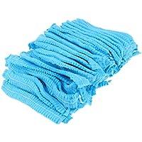 Sharplace 100 STÜCKE Einweg Vlies Bouffant Kappe Haar Abdeckung Staubdicht Elastische 21 '' -Blau preisvergleich bei billige-tabletten.eu