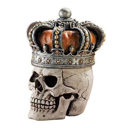 design-toscano-crowned-skull-gothic-relic-box