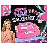 Grafix - Set gioco salone di bellezza, con smalti e glitter per unghie