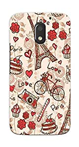 Kaira High Quality Printed Designer Back Case Cover For Motorola Moto E3 Power(315)