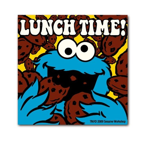 logoshirt-sesamstrasse-lunch-time-magnet
