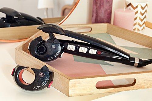 Babyliss Curl Secret Ionic 2 C1300E, Automatischer Lockenstyler mit zwei Aufsätzen für Locken und Wellen, schwarz - 3