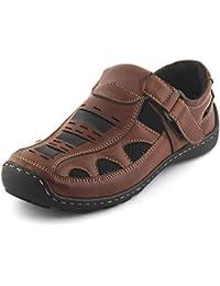 Albertiano Woodlander Sandal For Men's (Brown Color)