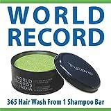 Trycone Apple Cider Vinegar Shampoo Bar with Conditioner,Biotin & Argan Oil, World Record