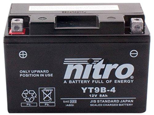 YT9B-N- 4 NITRO-Batteria Moto AGM chiuso