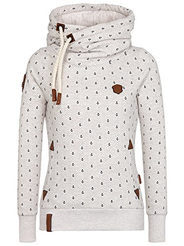 Naketano Female Hoody Darth Ankerdizzel IV oma melange