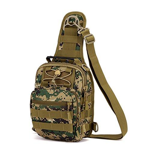 Un pacchetto ha quattro tipi di utilizzo, zaino da viaggio, borsa a tracolla, borsa Messenger, borsa per campeggio, viaggi, escursioni (grandi, piccole) C