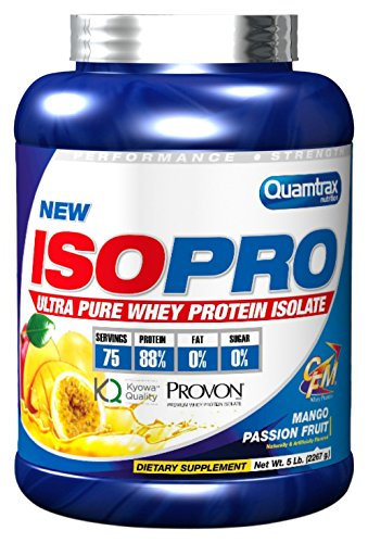 Quamtrax Nutrition Isopro CFM Mango & Fruit Passion, Suplementos para Deportistas - 2267 gr