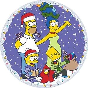 The Simpsons CC105 Family Christmas  Circular Jigsaw 500 pcs