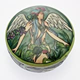 Fairy Gasgoine Lidded Round Trinket Box, 11cm Diameter