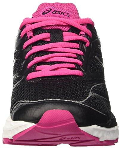 Asics Gel-Pulse 8 W, Chaussures de Sport Femme Multicolore (Black/Silver/Sport Pink)