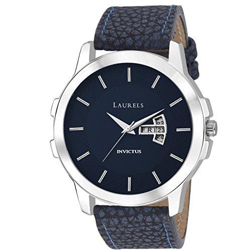 Laurels Analogue Blue Dial Men\'S Watch Lo-Inc-603
