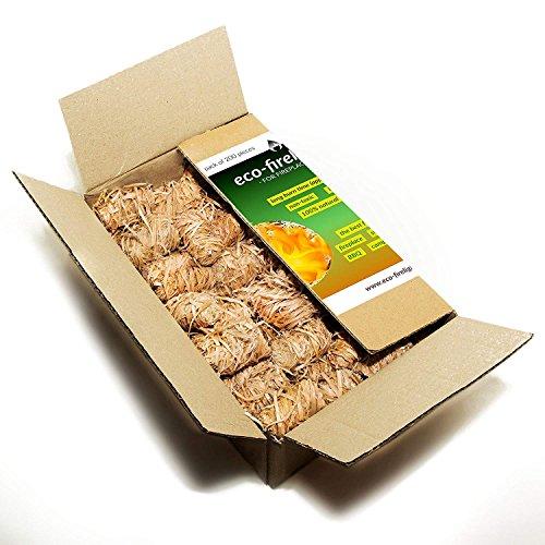 Natural Flamers – Encendedores lana madera chimeneas