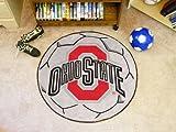 FANMATS 1518 Ohio State Fu-ball Rug 29 mm Durchmesser