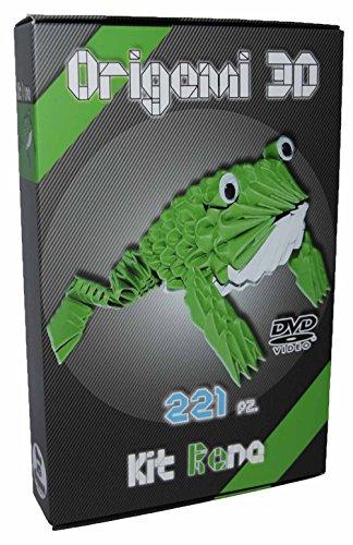 Zugriff Auf Video - ('Origami 3d Kit Frosch/Frog 221Stück.–Karton