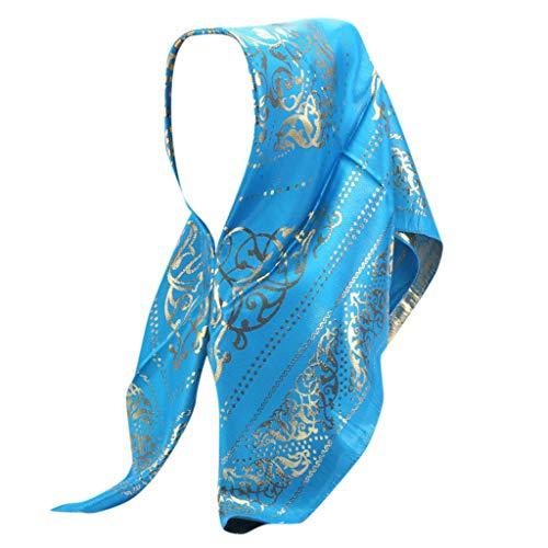 le Gold Glitters Plain Chiffon Muslim Hijab Schal Halstuch ()