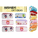 Raaya Set Of 12, Pencil Box And Pencil Pouches Best Diwali And Navratri Gift For Kids, Boys And Girls, Multi Color, 25 Gram, Pack Of 1