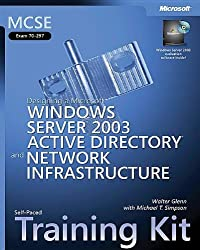 MCSE Self-Paced Training Kit (Exam 70-297): Designing a Microsoft® Windows ServerTM 2003 Active Directory® and Network Infrastructure (Pro-Certification)