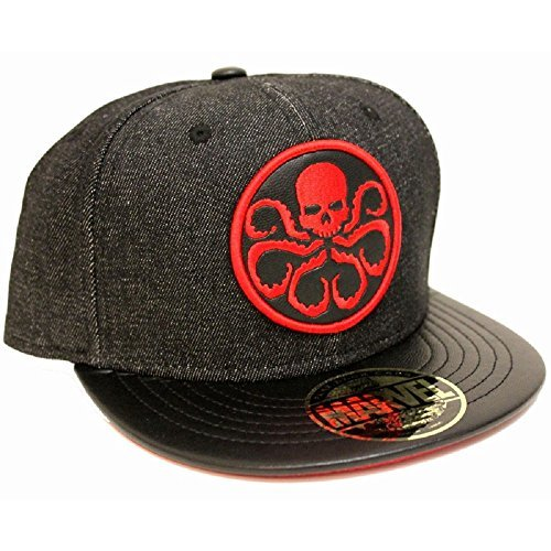 Marvel Marvel Comics Hydra Logo Black Snapback cap