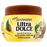 Garnier Ultra Dolce all'Olio di Avocado e Burro di Karité Maschera per Capelli Ricci o Mossi - 300 ml