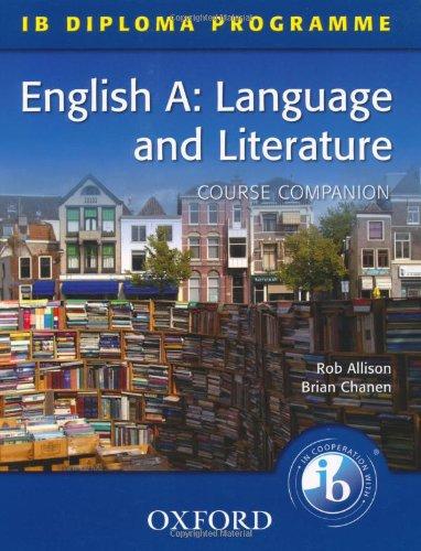 English A Language and Literature (IB Diploma Programme)
