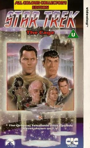 Star Trek The Original Series: The Cage (Collectors Edition) [VHS]