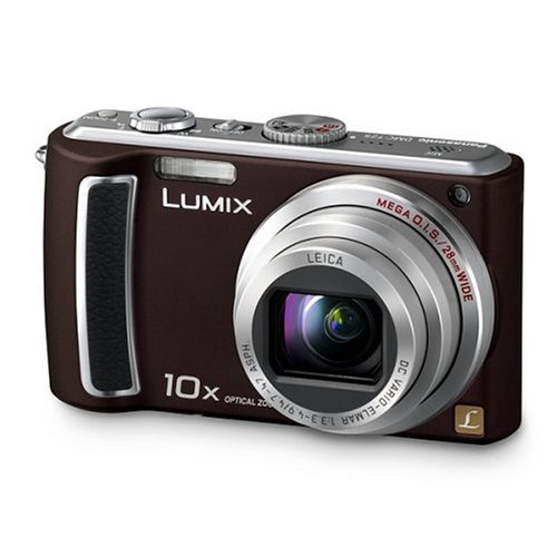Panasonic DMC-TZ5EG-TA Digitalkamera (9 Megapixel, 10-fach opt. Zoom, 7,6 cm (3 Zoll) Display, Bildstabilisator) chocolate Panasonic Sd-viewer