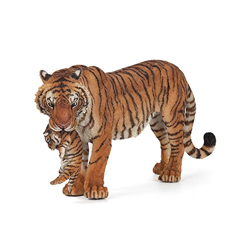 Papo 50118 - Figure of tigress and her cub