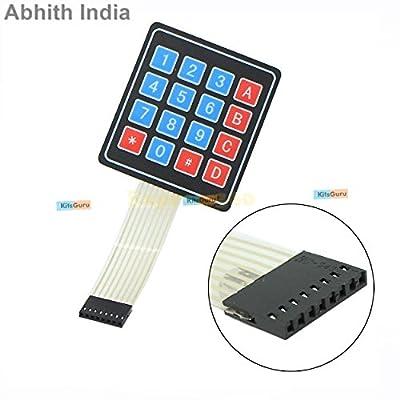 4x4 Matrix Keypad Membrane Switch- Arduino, ARM and other MCU KG032