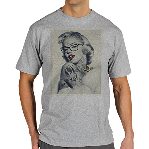 SWAG Merlyn Monroe Totally Young Swag Herren T-Shirt Grau