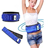 Konnison Electric Slimming Belt Lose Weight Fitness Massage X5 Times Sway Vibration Abdominal