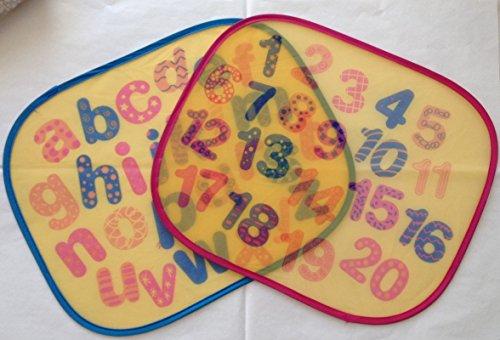 LOT DE 2 PARE SOLEIL VITRE VOITURE POUR PROTECTION SOLEIL BEBE / ENFANT