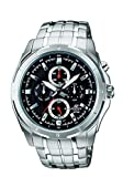 Best Casio Edifice Watches - Casio Edifice Multi Dial Black Men's Watch-EF-328D-1AVDF (ED375) Review