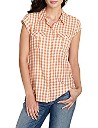 Eddie Bauer Damen Regular Fit Bluse 081227