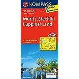 Kompass Fahrradkarte: Müritz - Stechlin - Ruppiner Land. GPS-genau. 1:70000