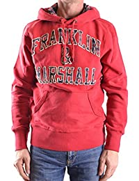 c3be21928ef9 Franklin   Marshall Fleece Hoodie Pullover Sweat Flmr321Fhlw11 L Chili Red